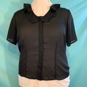 Venezia Black blouse